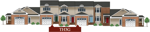 3br 2.5ba 1car garage townhome
