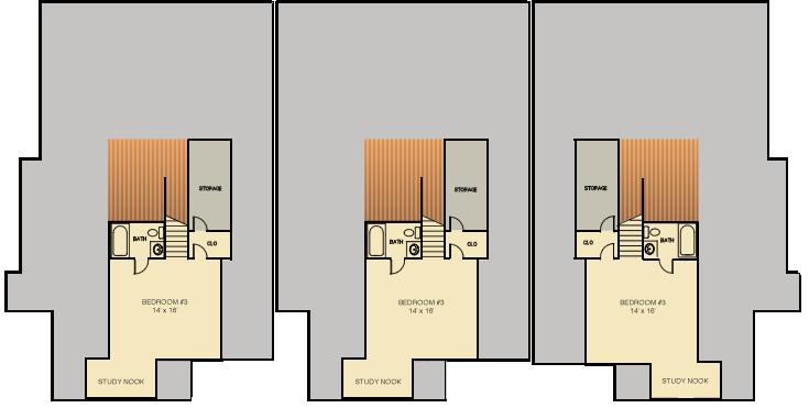 Executive Villa Triplex – Triplex Floor Plans With Garage